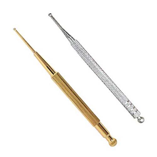 électrique Zetiling Stylo d'acupuncture laiton à double tête